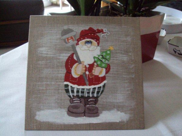 Père Noel sur Lin.
