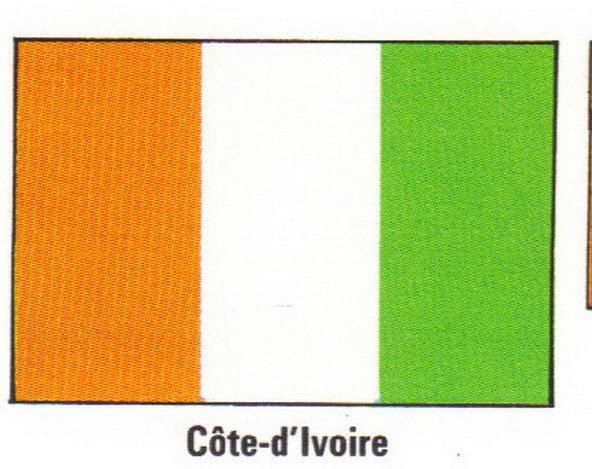 voila mon pays le drapo orange blanc vert =) vien de cotedivoire mon pays abijan region lagune moi