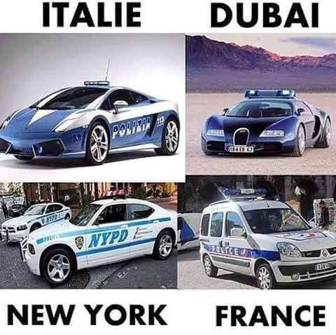 Voilà pourquoi la police française n'est pas pris au sérieux