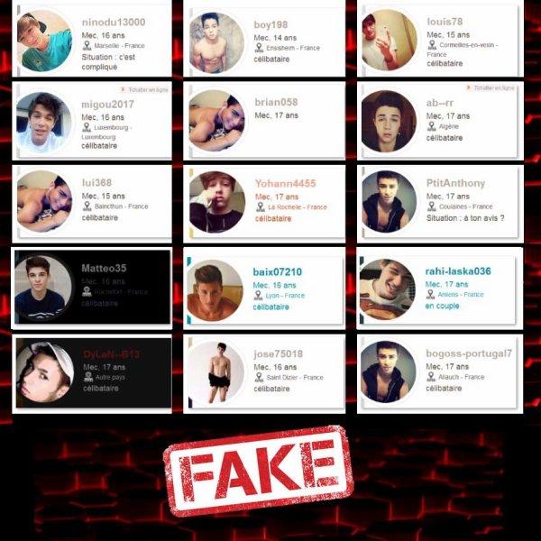 Tous les mecs sur ces comptes sont des fakes , evitez de les approcher !!