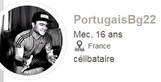 Encore un autre bouffon qui fake Eduardo del vechio ==> portugaisbg22