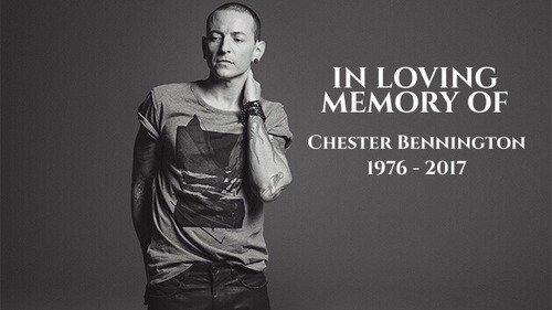 Hommage a L'un de mes chanteurs préférés qui vient de Disparaitre , Chester Bennington :(  RIP