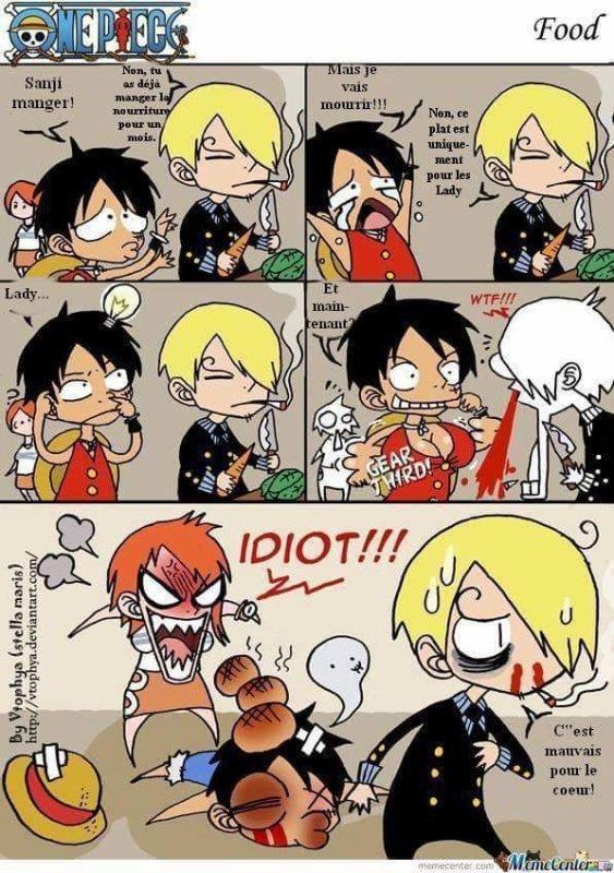 C'est du Luffy tout craché... mdr