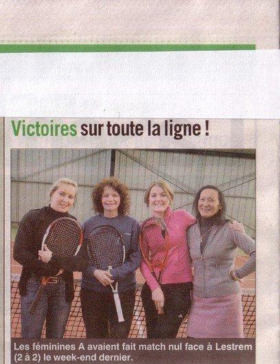 Un Prof de tennis heureux ...