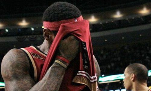 lebron james désillusion en final