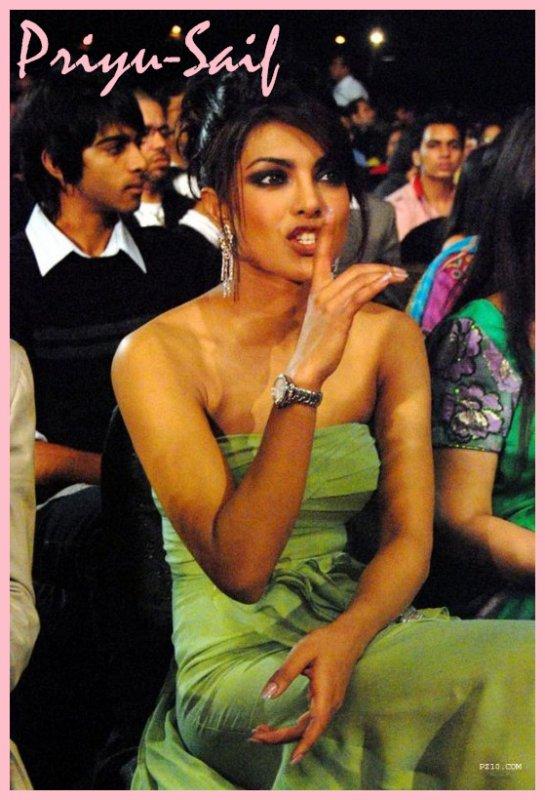 priyanka a déclenché la rumeur selon laquelle elle est dans une relation avec saif ali khan