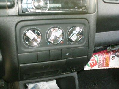 bouton de  ventillation