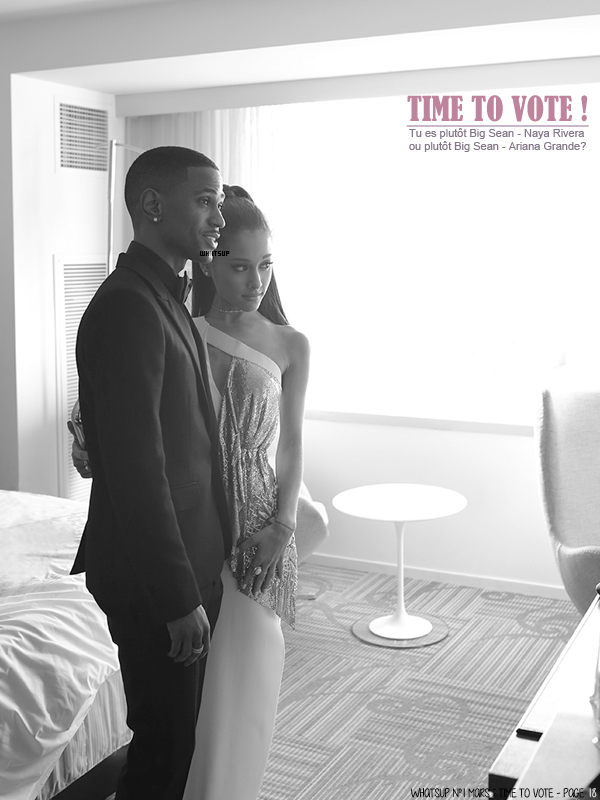 * ____________● ● ● __N°1 Mars 2015 - Article 6: Time to Vote ! BS - Ariana / BS - Naya ?» Posté par Audrey, le 22 mars 2015
