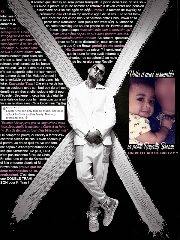 * ____________● ● ● __N°2 Avril 2015 - Article 1:  Félicitations Chris Brown ; Goodbye Karrueche Tran !» Posté par Audrey, le 3 avril 2015