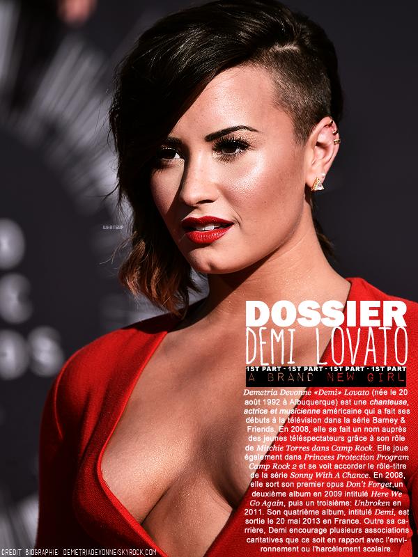 * ____________● ● ● __N°2 Avril 2015 - Article 4: Dossier Demi Lovato (Partie 1)  » Posté par Audrey, le 19 avril 2015
