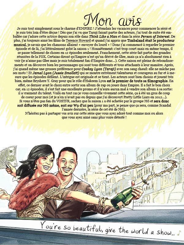 * ◆ N°4 Juin 2015 - Article 2: La série à ne vraiment pas râter !  | Posté par Audrey, le 3 juin 2015