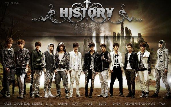 EXO - MAMA / EXO-K - History (2012)