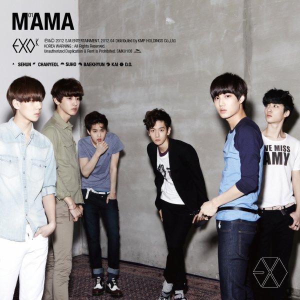 EXO - MAMA / EXO-K - Angel (2012)