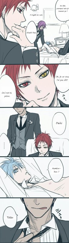Doujin Kiseki x Kuroko : Akashi's Punishment (La punition d'Akashi)