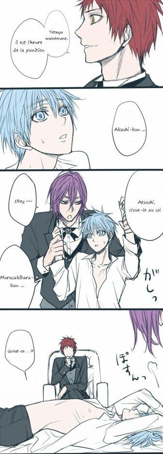 Doujin Kiseki x Kuroko : Akashi's Punishment (La punition d'Akashi)