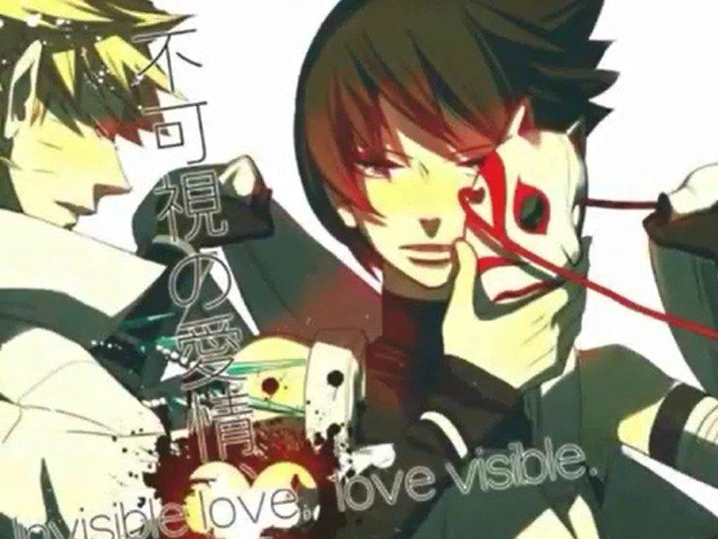 Doujin Naruto x Sasuke : Invisible Love, Love Visible