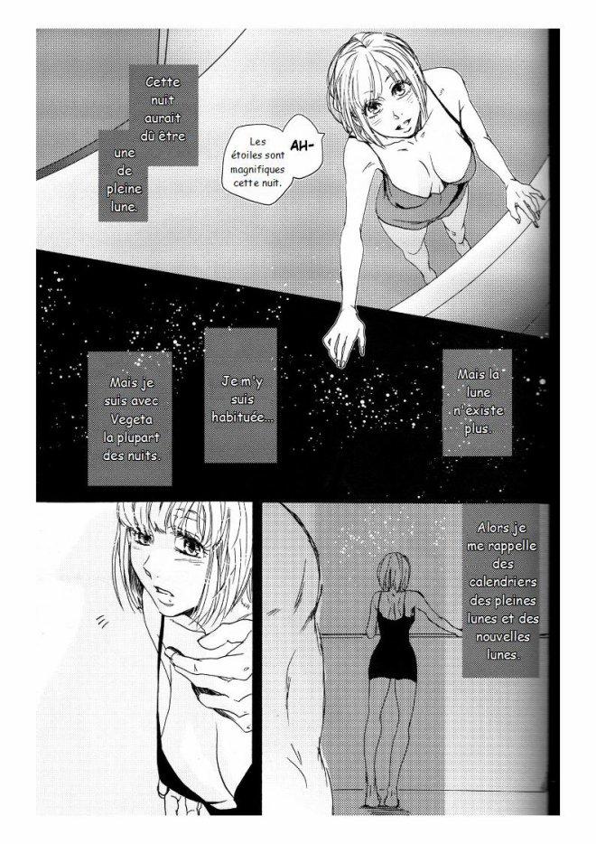 Doujin Bulma x Vegeta : The drop of moonlight