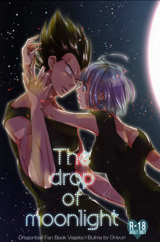 Doujin Bulma x Vegeta : The drop of moonlight