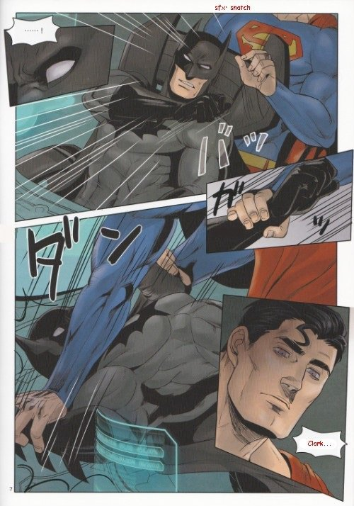 Doujin Batman x Superman : Red Great Krypton