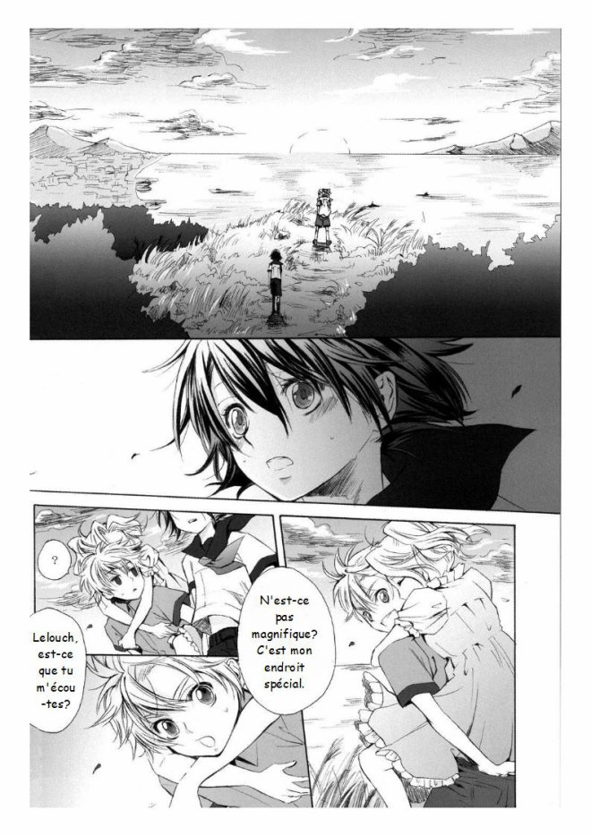 Doujin Lelouch x Suzaku : I'll see you in my dream