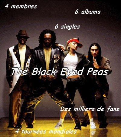 Les Black Eyed Peas en UNE image