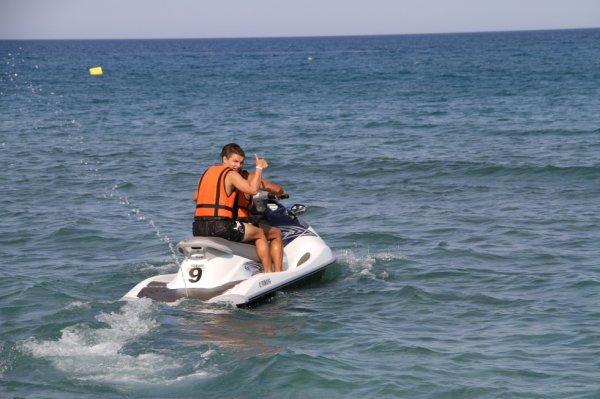 Jet Ski avec mon Padre <3