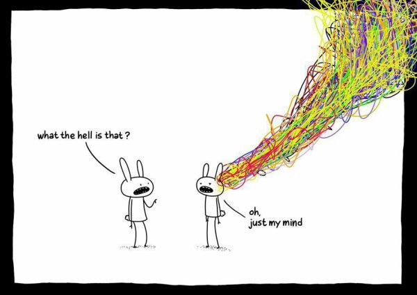 My mind tonight
