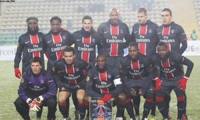 l'équipe du P.S.G