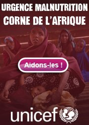 Urgence : Corne de l'Afrique.
