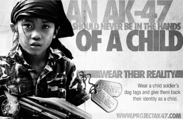 Les enfants soldats