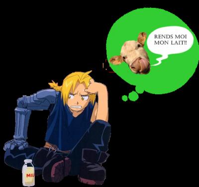 Ed, tu n'as pas bu ton lait?...