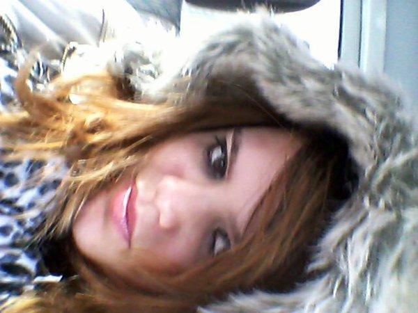 Le froid me rend belle