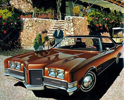 Pontiac Parisienne Brougham Sedan 1971.