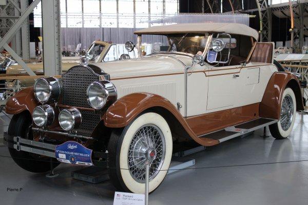 1929 Packard Eigth de Luxe Cabrio