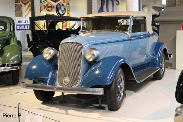 1933 Plymouth Type PC