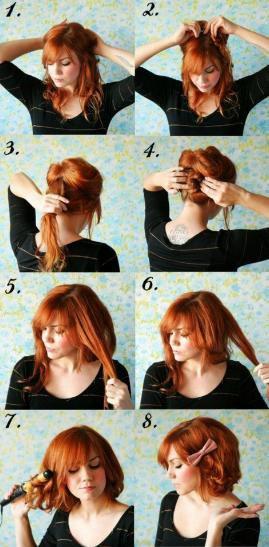 Tutoriel coiffure.