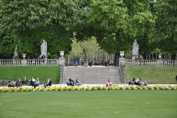 PARIS    LE  JARDIN  DU  LUXEMBOURG       photo  SM07
