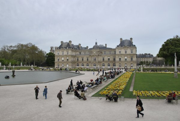 PARIS   LE  PALAIS DU LUXEMBOURG    photo  SM07