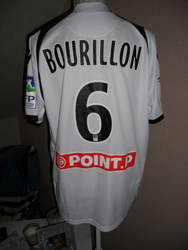 Maillot coupe de la ligue BOURILLON Gregory Lorient