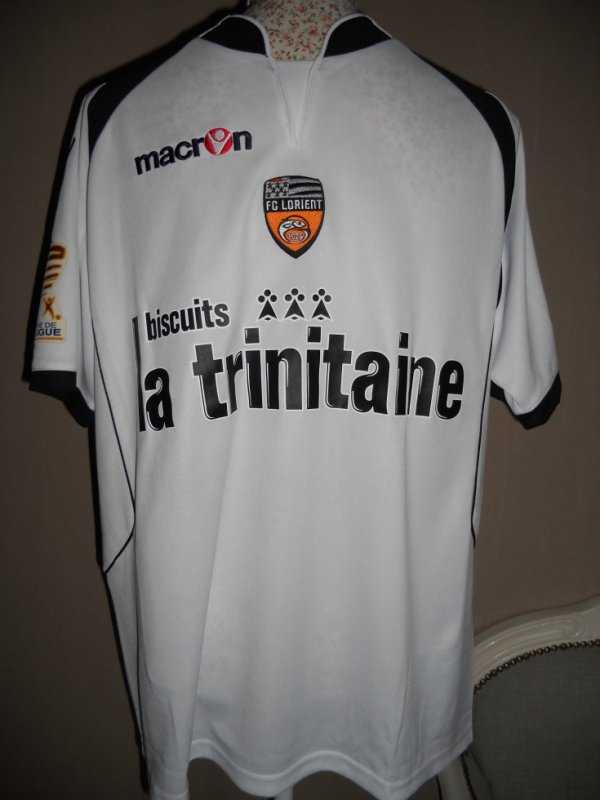 Maillot LORIENT coupe de la ligue BOURILLON Gregory