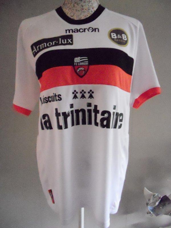 maillot LORIENT exterieur saison2012/2013