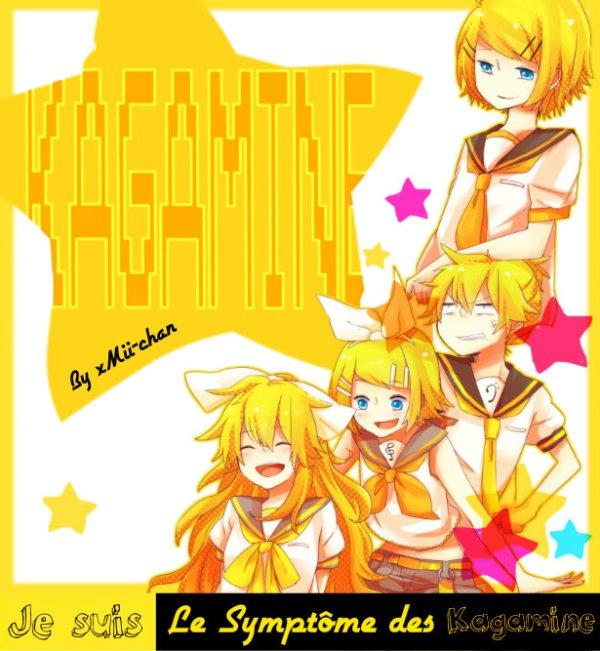 Je suis le Symptôme Des Kagamine, Vous Aussi ? Remixez !