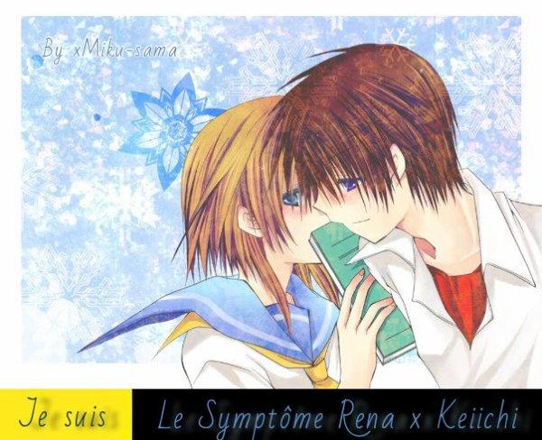 Je Suis Le Symptôme Rena x Keiichi, Vous Aussi ? Remixez !