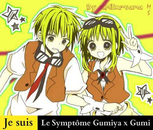 Je Suis Le Symptôme Gumiya x Gumi, Toi aussi ? Remixe !
