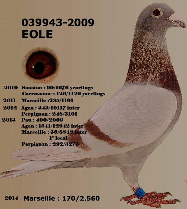 "le 39943/09   "" Eole"" 10 prix inter"