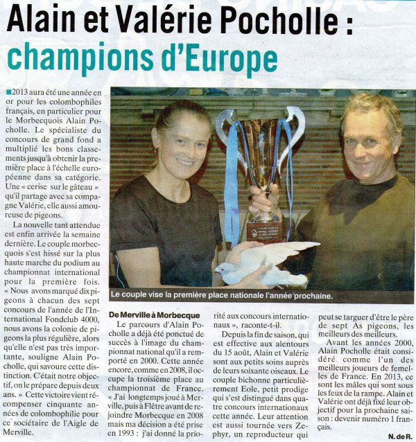 article indicateur des flandres