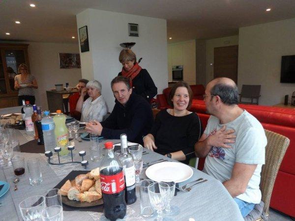 A la St catherine tout bois prend racine !! Visite chez nos amis belges.