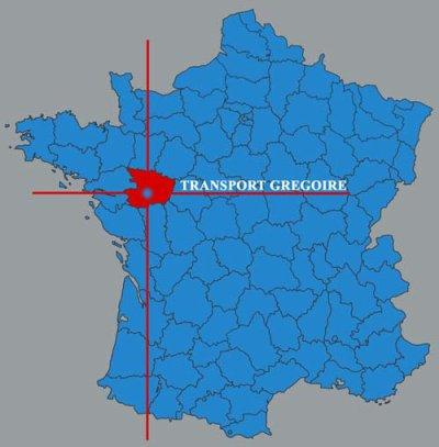 Présentation en huit articles du transporteur Gregoire situé à Chemillé (49).