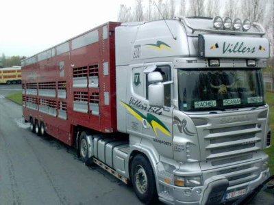 Un autre ensemble de José Villers, ce Scania R500.