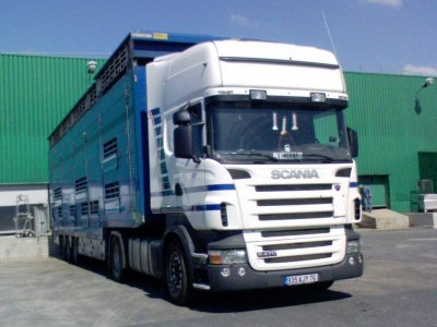 Ce Scania acheté d'occasion appartenait à un transporteur alsacien.